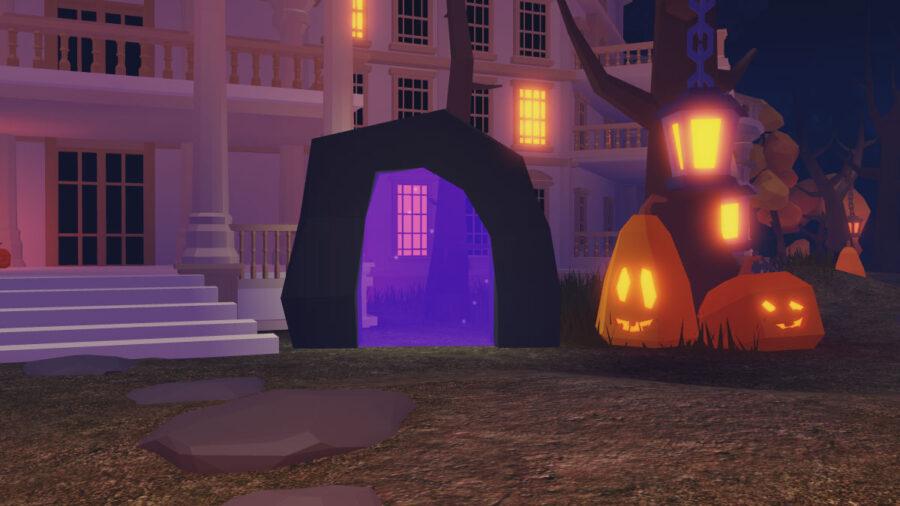 Centro temático de Halloween de las islas Roblox