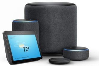 Familia Amazon Echo. Fonte: Amazon