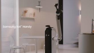 Samsung Bot Handy (imagen: Samsung Newsroom)