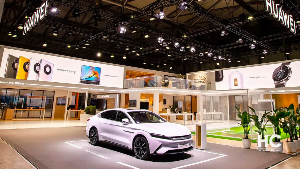 Huawei planea lanzar autos eléctricos a partir de 2021