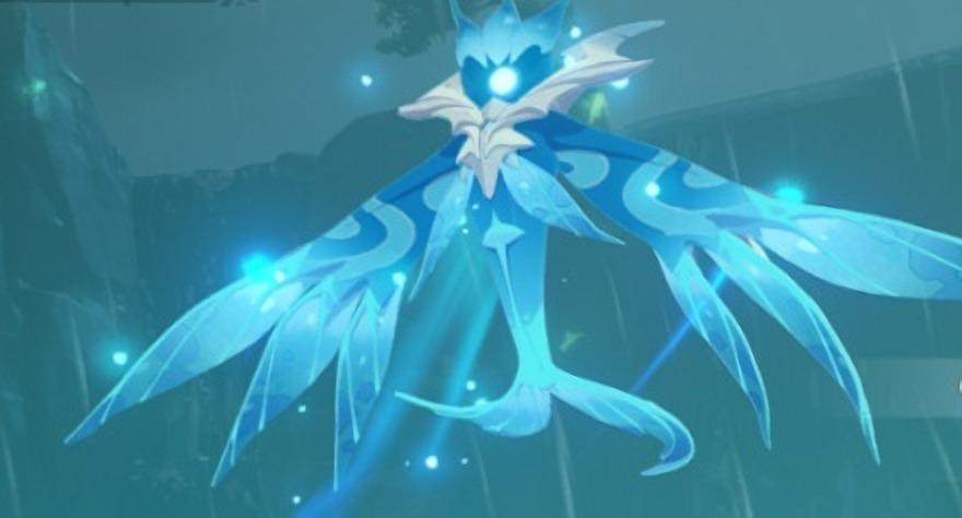 Una captura de pantalla de Elite Boss Oceanid en Genshin Impact
