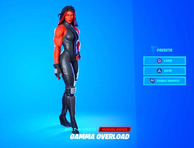 Imagen de ejemplo de Red She-Hulk