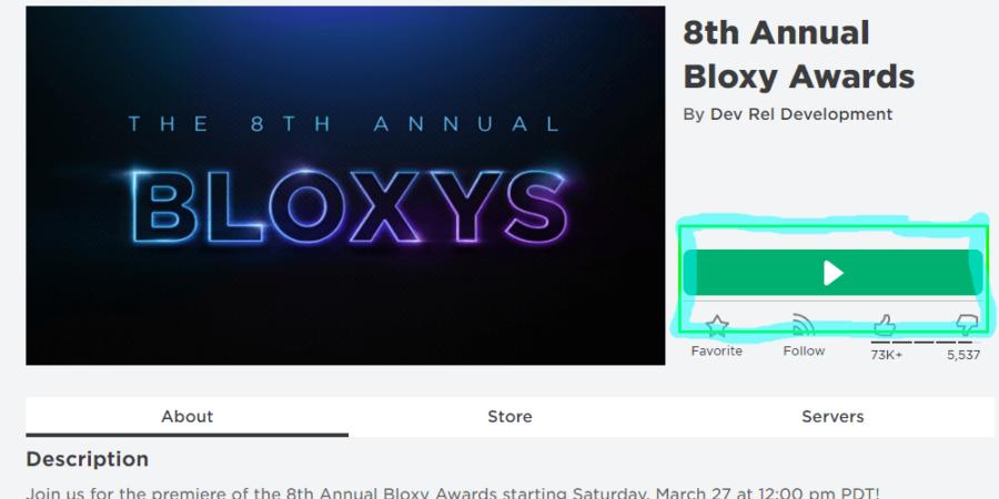 Cómo ver el Bloxys 2021.