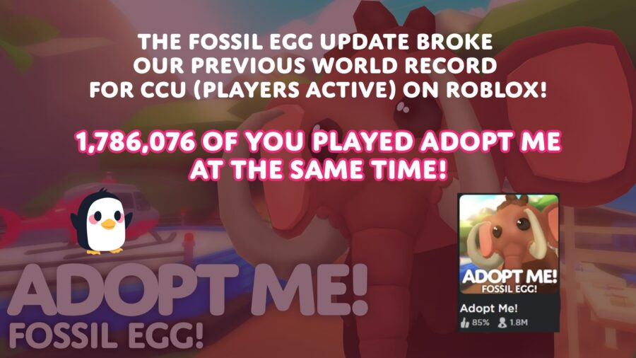 ¡Adoptarme!  récord para los jugadores más activos