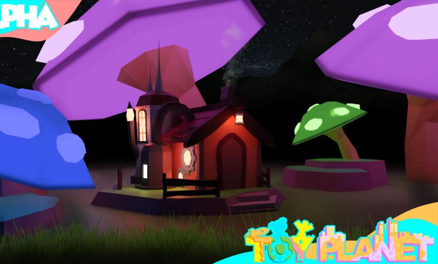 Casa de inicio Toy Planet