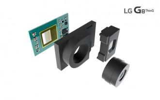 Formación del sensor ToF en el LG G8 ThinQ.  (Imagen: Reproducción / LG)