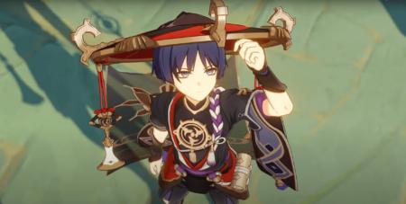 Personaje de Genshin Impact Scaramouche