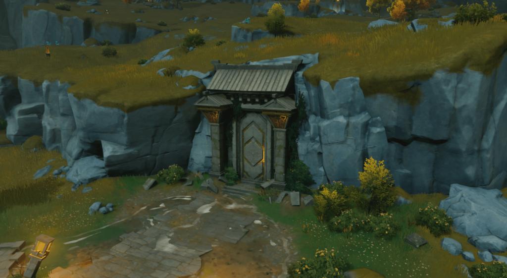 arruinar la entrada de la puerta a los pilares de la búsqueda de la paz