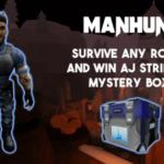 Cómo conseguir la caída de caja de AJ Striker en Manhunt |  Campeones de Roblox Metaverse
