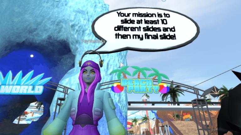 Cómo conseguir el caso terrorista de Fey Yoshida en Waterpark Oceanic    Campeones de Roblox Metaverse