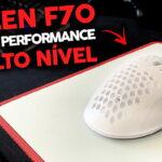 Revisión del mouse Fallen F70: diseño y rendimiento de alto nivel