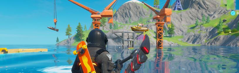 Fortnite: ¿Dónde está Dirty Docks?  (Temporada 3)